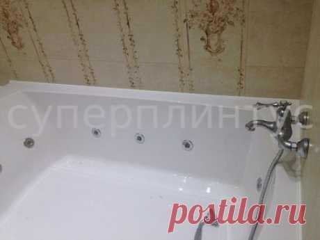 СУПЕРПЛИНТУС - АРТ.СП 6: современный ванный уголок