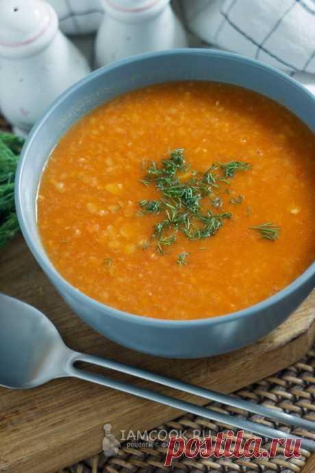 Гороховый суп с томатом — рецепт с фото пошагово
