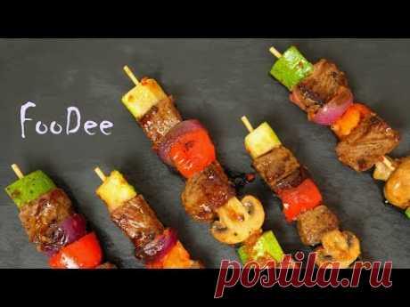 Быстрый ужин без заморочек ☆ Мясо с овощами и острой глазурью - YouTube