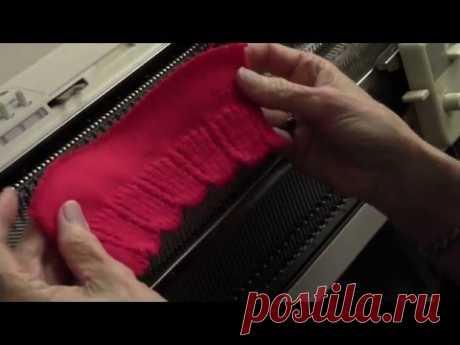 Scalloped Ribbing - Красивая резинка прессом от Дианы Салливан.