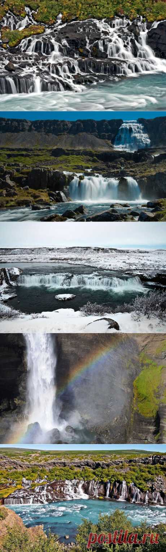 » Красоты водопадов Исландии Это интересно!