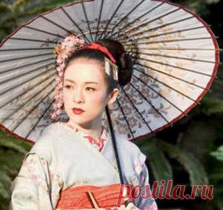 Гимнастика японских женщин макко-хо.