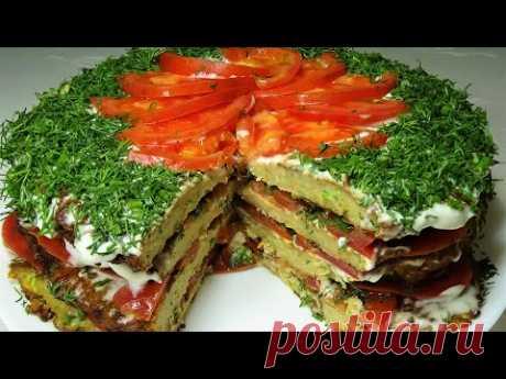 Сочный Торт из Кабачков и Мяса тает во рту  Рецепт от Аллы