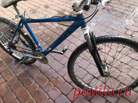 Продам велосипед Genesis в середньому стані - Велосипеди Виноградів на board.if.ua код оголошення 54138