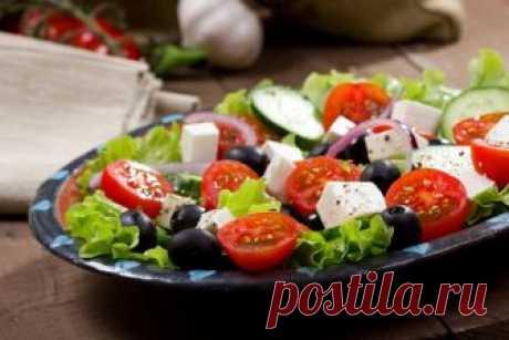 Классический греческий салат: рецепт приготовления | Смачно Как приготовить классический греческий салат - пошаговый рецепт