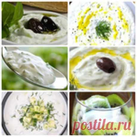 Простые виды соусов на основе йогурта