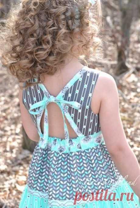 17 самых миленьких платьев для малышек со всего интернета, сшитых своими руками