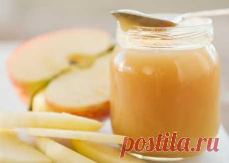 """Домашний рецепт яблочного пюре """"Неженка"""", которое нам так нравилось в детстве!"""