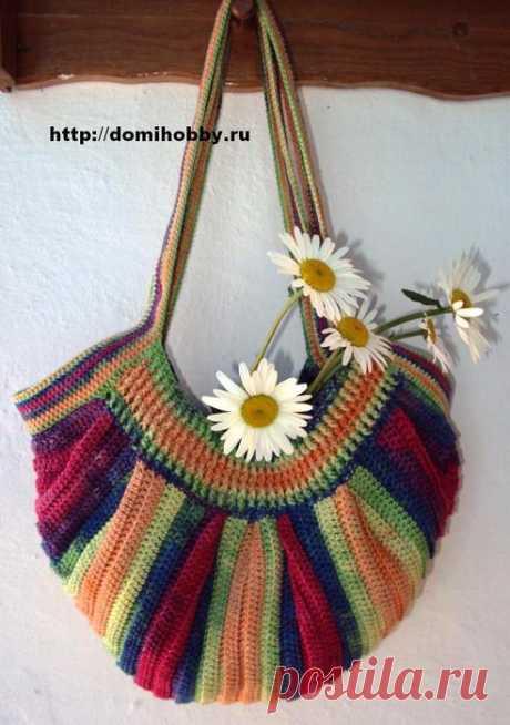Оригинальное вязание для лета