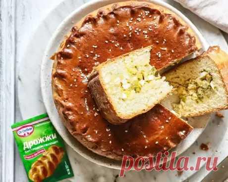 Закрытый пирог с капустой и яйцом - Домашняя выпечка - медиаплатформа МирТесен