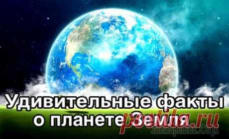 Удивительные факты о планете Земля
