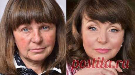 Сбросить 10 лет за 10 минут. Как выглядеть моложе с помощью макияжа   50+   Яндекс Дзен