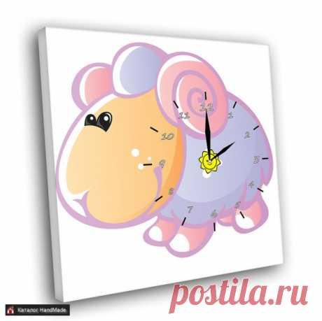 Картина Часы 005-2 ручной работы в Беларуси HandMade
