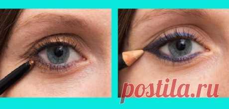 Карандаш для глаз: цвета, которые старят (актуально для 50 лет и старше) - медиаплатформа МирТесен