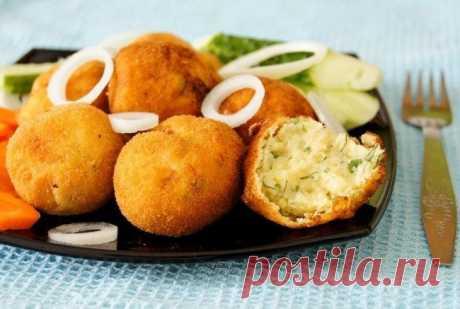 Картофельные крокеты — Sloosh – кулинарные рецепты
