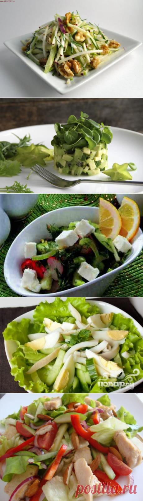 Топ-5 идей салатов для легкого ужина
