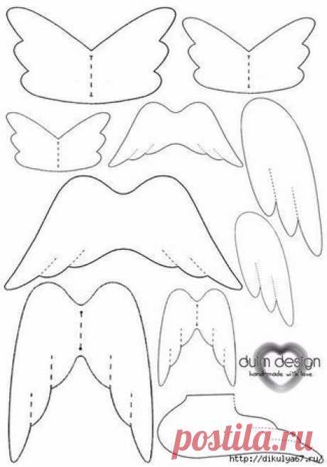Крылышки для ангелочка