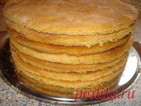 Коржи для торта за 30 мин - Простые рецепты Овкусе.ру