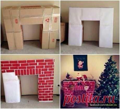 Эковер - Хроника - Бюджетный вариант декора к новогодним праздникам.