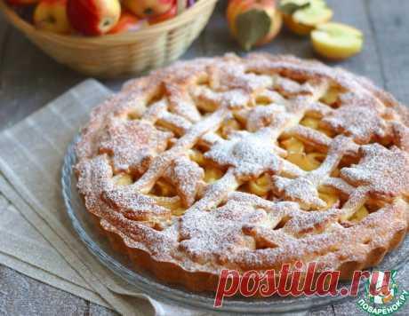 Бездрожжевой яблочный пирог