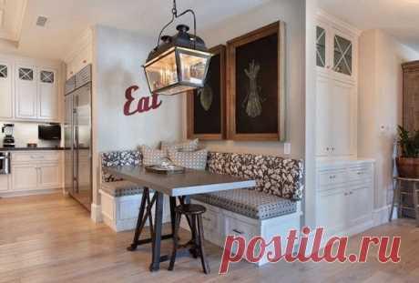 Современный кухонный уголок: идеи в фото