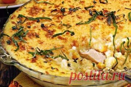 Правильный ужин: овощная запеканка с курицей! - Советы для тебя