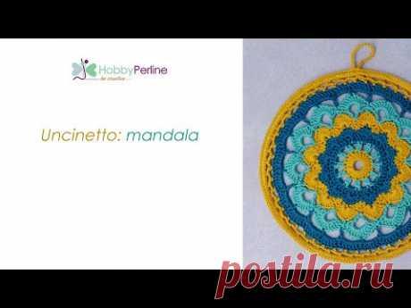 Come realizzare un mandala all'uncinetto | TUTORIAL - HobbyPerline.com