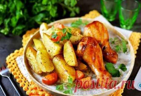 Куриные ножки с картошкой: отличное решение для вкусного и полезного ужина - Жизнь планеты