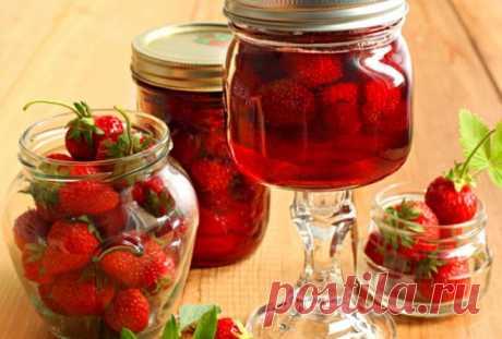 Unusual strawberry jam