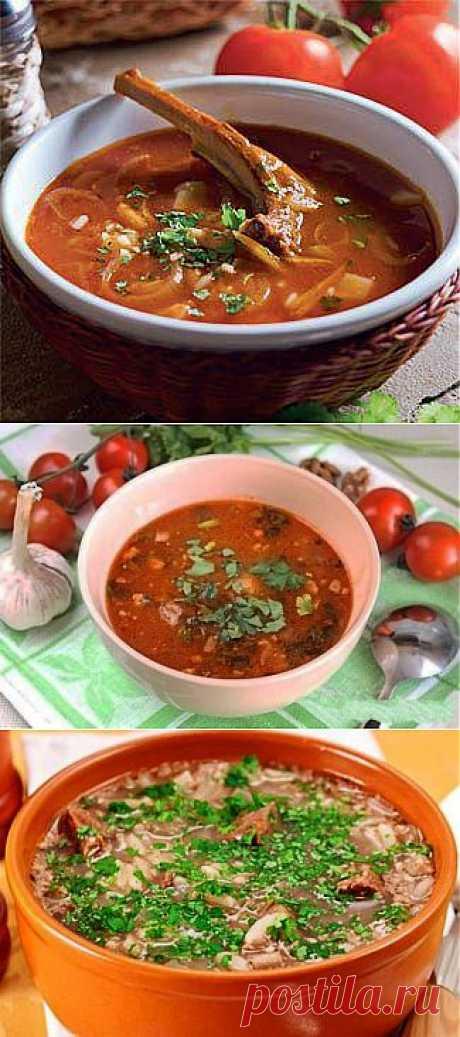 Харчо - традиционный грузинский суп.