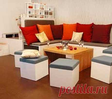 transforming set for the small room of the teenager - 1