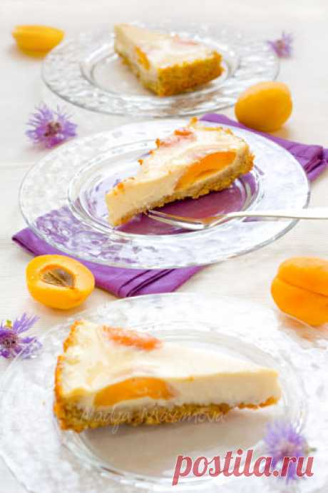 Абрикосовый торт со сливочным сыром - Кулинарная книга безумного Кррролика