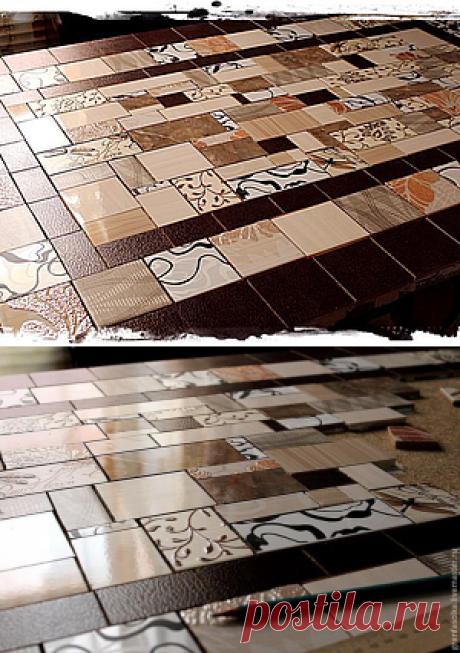 Создаем мозаичную столешницу - Ярмарка Мастеров - ручная работа, handmade