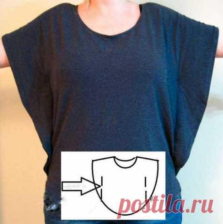 Как сшить блузку своими руками без выкройки для начинающих