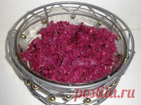 Салат из свеклы и чернослива рецепт – европейская кухня, вегетарианская еда: салаты. «Еда»