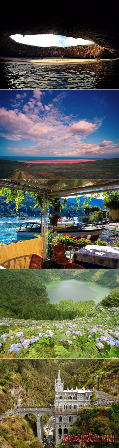 23 ярких фотографий невероятных мест в разных уголках планеты