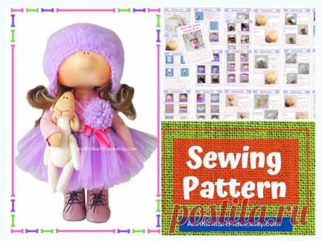Handmade Doll Sewing Pattern PDF, Interior Doll Tutorial, Tilda Doll DIY Pattern, How to Sew Cloth Doll by Natalia Pe Handmade Doll Sewing Pattern PDF by master Natalia Pe  Pattern uncludes full Doll and Cloth sewing tutorial. ~ ~ ~ ~ ~ ~ ~ ~ ~ ~ ~ ~ ~ ~ ~ ~ ~ ~ ~ ~ ~ ~ ~ ~ Pattern does not include hat and shoes. ~ ~ ~ ~ ~ ~ ~ ~ ~ ~ ~ ~ ~ ~ ~ ~ ~ ~ ~ ~ ~ ~ ~ ~  Pattern is for 20 cm (9 inch) interior doll by master