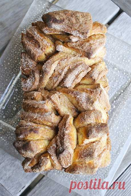 Suiker kaneel breek brood