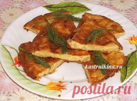 Испанская тортилья, рецепт с фото