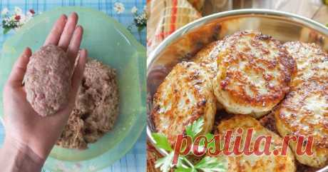 This trick, will make your cutlets very juicy and tasty, is much more tasty than usual! Add a spoon of powder or seeds to forcemeat — the most delicate dish is ready!