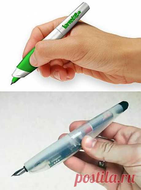 Ручка, которая реагирует на ошибки   Обзоры интересных гаджетов