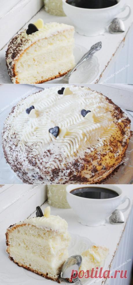 Сливочный торт | Готовьте с нами