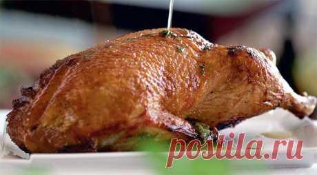 Утка в медово-мятном соусе. Пошаговый рецепт с фото на Gastronom.ru