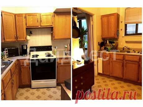 Ремонт кухни 8 кв. метров. Фото до и после