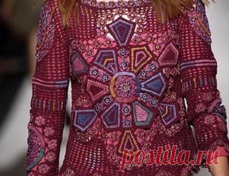 Пуловер в стиле этно - мне нравится, а Вам? | Tvorlen | Яндекс Дзен