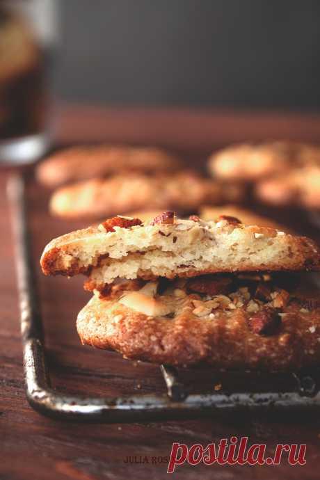 Печенье с миндалем и шоколадными каплями: birosss — ЖЖ