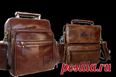 Мужские сумки из натуральной кожи. Доставка во все регионы России.