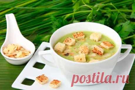 Крем суп из брокколи со сливками – пошаговый рецепт с фото.