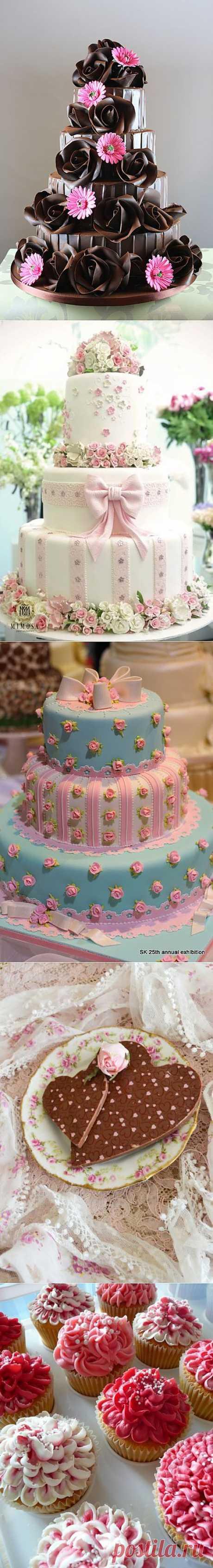 Вкусно и красиво. Украшение тортов!.