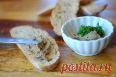 Паштет из говяжей печени - рецепт с фото / Простые рецепты